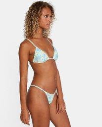 5 Fields Of Dreams Printed Mid-Rise French Bikini Bottom Red AVJX400162 RVCA