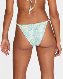 7 Fields Of Dreams Printed Mid-Rise French Bikini Bottom Red AVJX400162 RVCA