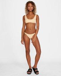 2 Run Wild Printed Low-Rise Cheeky Bikini Bottom Red AVJX400168 RVCA