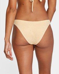5 Run Wild Printed Mid-Rise French Bikini Bottom Red AVJX400169 RVCA