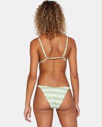 0 Ziggy Textured Mid-Rise French Bikini Bottom White AVJX400170 RVCA