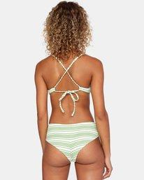 0 Ziggy Textured Mid-Rise Boy Short Bikini Bottom White AVJX400171 RVCA