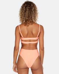 0 La Jolla High Rise Bikini Bottom Orange AVJX400172 RVCA