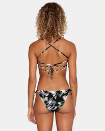 0 Pixie Printed Low-Rise Medium Coverage Bikini Bottom White AVJX400184 RVCA