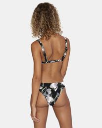 0 Pixie Printed Mid-Rise French Bikini Bottom White AVJX400185 RVCA
