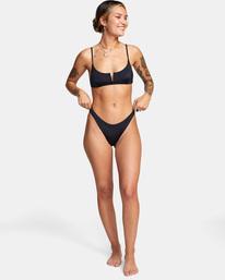 2 Solid Cheeky French Bikini Bottom  AVJX400190 RVCA