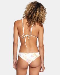 0 Mary Printed Cheeky Bikini Bottom White AVJX400192 RVCA