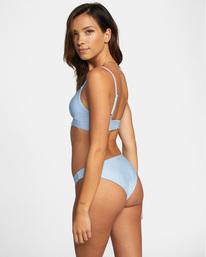 4 Daybreak Printed Low-Rise Medium Bikini Bottom Purple AVJX400194 RVCA