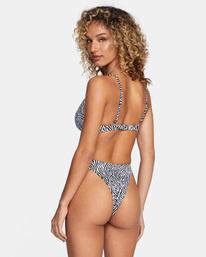 4 Matt Leines | Printed Skimpy Bikini Bottom Orange AVJX400203 RVCA