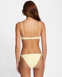 0 Sun Beam Printed Low-Rise Bikini Bottom  AVJX400209 RVCA