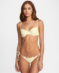 1 Sun Beam Printed Low-Rise Bikini Bottom  AVJX400209 RVCA