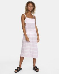 8 Island Hopper Tie-Dye Dress Purple AVJX600107 RVCA