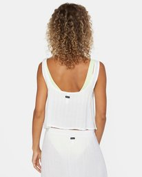 9 After Hours Solid Top White AVJX600113 RVCA