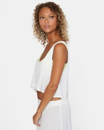 11 After Hours Solid Top White AVJX600113 RVCA