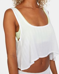13 After Hours Solid Top White AVJX600113 RVCA