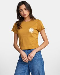 0 SUN SPROUT TEE White AVJZT00128 RVCA