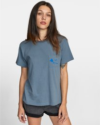 0 ISLAND HEX SHORT SLEEVE TEE Multicolor AVJZT00147 RVCA