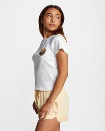 5 Dana Trippe Dana Hues Short Sleeve Tee White AVJZT00257 RVCA