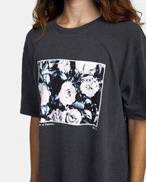 5 Framed Short Sleeve Tee Black AVJZT00270 RVCA