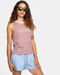 4 Constructed Tank Top White AVJZT00274 RVCA