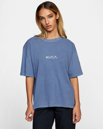 0 Little RVCA Anyday Tee Blue AVJZT00332 RVCA