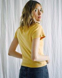 3 Camille Rowe   Conservez L'eau T-Shirt White AVJZT00343 RVCA