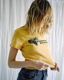 5 Camille Rowe   Conservez L'eau T-Shirt White AVJZT00343 RVCA