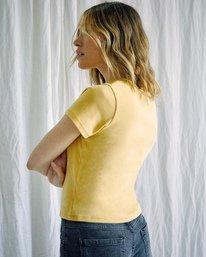 6 Camille Rowe   Conservez L'eau T-Shirt White AVJZT00343 RVCA