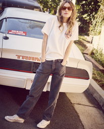 0 Camille Rowe | Rowe Brewing T-Shirt White AVJZT00348 RVCA