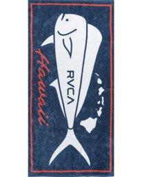 0 ISLAND MAHI BEACH TOWEL Multicolor AVYAA00109 RVCA