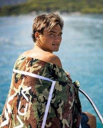 0 ISLAND HEX BEACH TOWEL Beige AVYAA00110 RVCA