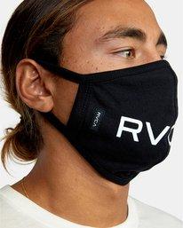 3 RVCA Face Mask Black AVYAA00119 RVCA