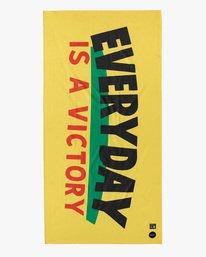 0 Espo   Everyday Victory Beach Towel Yellow AVYAA00141 RVCA