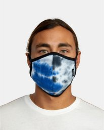 1 RVCA Tie-Dye Mask Blue AVYAA00148 RVCA
