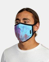 2 RVCA Tie-Dye Mask White AVYAA00148 RVCA