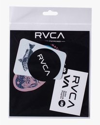 2 ANP Sticker 6 Pack I Grey AVYAA00159 RVCA