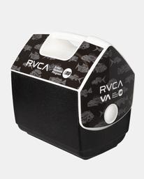0 RVCA X PLAYMATE 7QT ANP COOLER Black AVYAA00208 RVCA