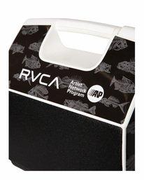 2 RVCA X PLAYMATE 7QT ANP COOLER Black AVYAA00208 RVCA