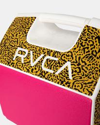 2 RVCA X PLAYMATE PAL 7QT COOLER Pink AVYAA00209 RVCA