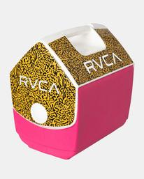 1 RVCA X PLAYMATE PAL 7QT COOLER Pink AVYAA00209 RVCA