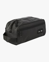 0 RVCA 4L Dopp Kit Travel Bag Black AVYBA00102 RVCA