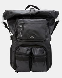 2 Zak Noyle | Camera Backpack Black AVYBP00104 RVCA