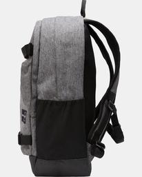 6 CURB SKATE BACKPACK Grey AVYBP00106 RVCA