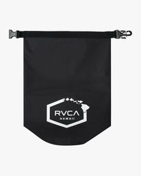 0 Island Hex 14L Dry Bag Black AVYBP00108 RVCA