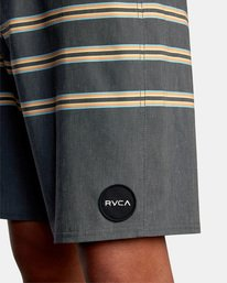 "3 Faction Boardshorts 18"" Orange AVYBS00101 RVCA"