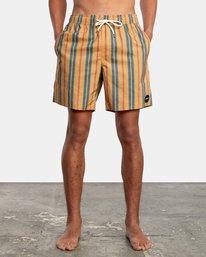 "1 Barnes Elastic Boardshorts 17"" Multicolor AVYBS00115 RVCA"