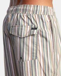 "7 Barnes Elastic Boardshorts 17"" Beige AVYBS00115 RVCA"