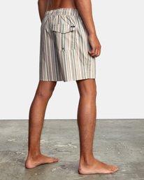 "5 Barnes Elastic Boardshorts 17"" Beige AVYBS00115 RVCA"