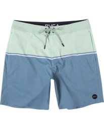 "0 COUNTY BOARDSHORT 18"" Blue AVYBS00120 RVCA"