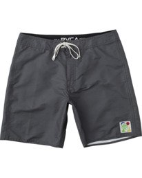 "0 ELDER BOARDSHORT 18"" Black AVYBS00124 RVCA"